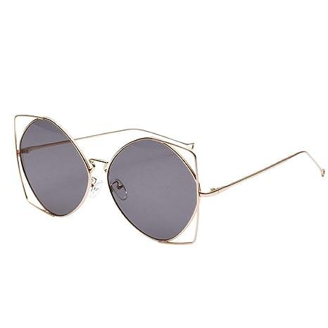 Fuxitoggo Gafas polarizadas Gafas de sol para hombres Mujeres Gafas de seguridad Protección UV Gafas retro Claro para niños pequeños Chicas Damas Vintage ...