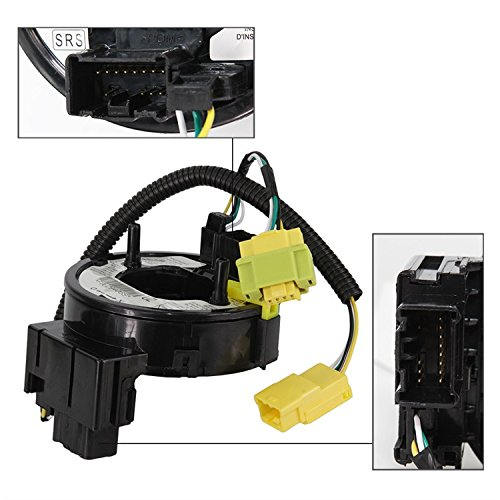 New Spiral Cable Clock Spring For Honda Accord 2.4L 3.0L 2003 2004 2005 2006 2007 Selected Fits 77900-SDA-Y21/ZBN