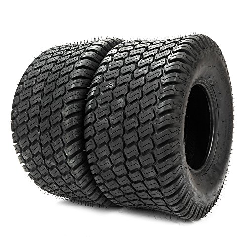 Qp-SUNROAD 2PCS Lawn Mower Golf Cart Turf Tires-18x9.50-8 P322/4PR - 13032 by Qp-SUNROAD