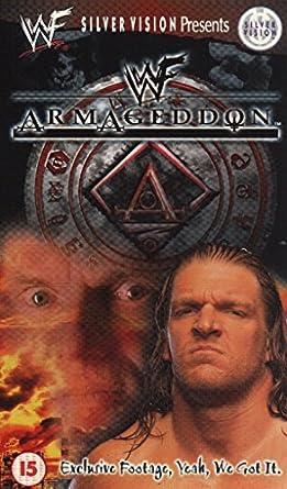 WWF Armageddon [Reino Unido] [VHS]: Amazon.es: Paul Levesque ...
