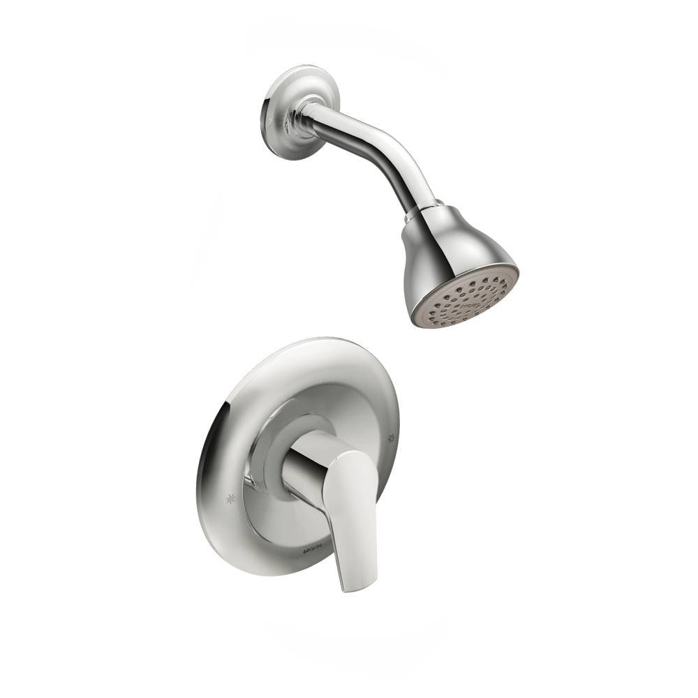 Moen T62802-2510 Method Posi-Temp Shower Trim Kit with Lever Handle and Valve, Chrome