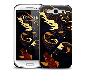 Japanese Dragon Samsung Galaxy S3 GS3 protective phone case
