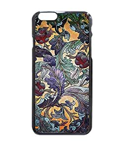 """Colorful Retro Abstract Floral Collage Hard Customized Case Cover , Iphone 6 (4.7"""") Case Cover, Protection Quique Cover, Perfect Fit, Show Your Own Personalized Phone Case for Iphone 6 - 4.7 Inches"""