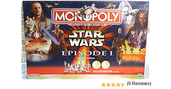 Star Wars Episode 1 Monopoly - Collectors Edition by Waddingtons: Amazon.es: Juguetes y juegos