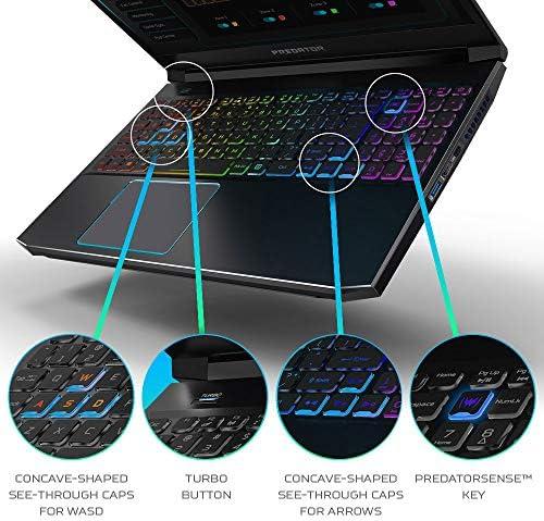 Acer Predator Triton 300 Gaming Laptop, Intel i7-10750H, NVIDIA GeForce RTX 2070 Max-Q, 15.6″ FHD 240Hz 3ms IPS Display, 16GB Dual-Channel DDR4, 512GB NVMe SSD, WiFi 6, RGB Backlit KB, PT315-52-73WT 51w 2BDuuRlzL