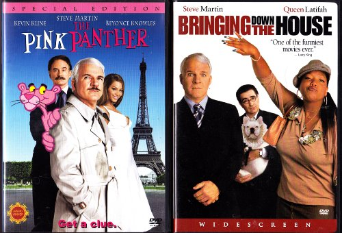 Amazon.com: The Pink Panther , Bringing Down The House : Steve Martin 2  Pack Collection: Movies U0026 TV