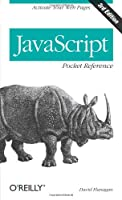 JavaScript Pocket Reference, 3rd edition Front Cover