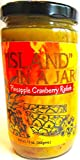 ''ISLAND'' IN A JAR!- PINEAPPLE CRANBERRY RELISH