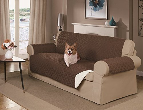 Mason Reversible Sofa Cover Brown Buy line in UAE