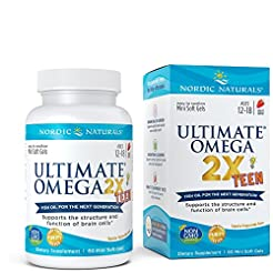 Nordic Naturals Ultimate Omega 2x Teen -...
