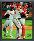 "Roy Halladay Philadelphia Phillies MLB Perfect Game Action Photo (Size: 12"" x 15"") Framed"