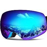 ZIONOR Lagopus X10Mini Kids Snowmobile Snowboard Skate Ski Goggles...