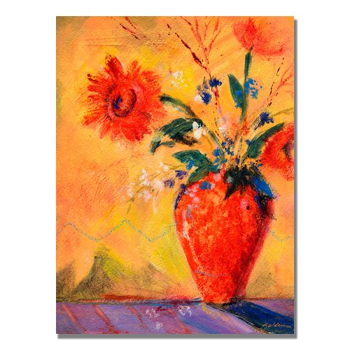 Fiesta Bouqet by Sheila Golden, 24x32 inches Canvas Wall Art