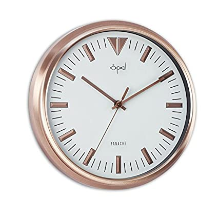 f7039aa20 Image Unavailable. Image not available for. Colour  Opal Wall Clocks -