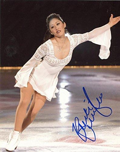 Kristi Yamaguchi Gold Medal Skater Signed Autographed 8x10 Photo W/coa - Autographed Olympic Photos