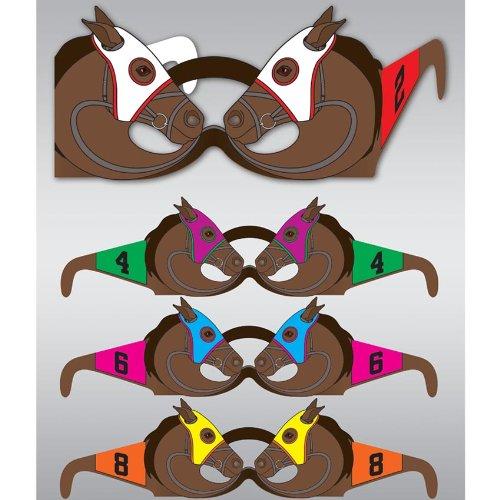 Race Horse Glasses (6 Pieces Per
