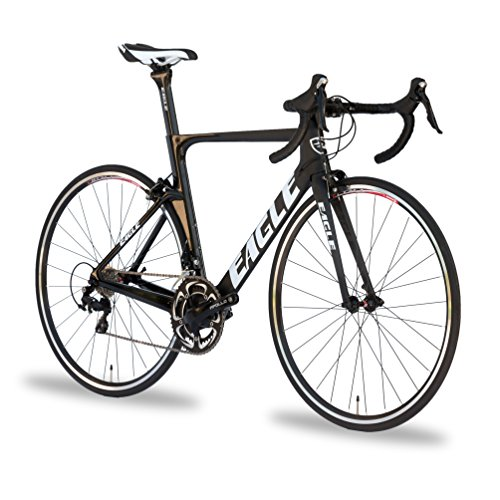 Eagle Carbon Aero Road Bike - US Company like Trek, Specialized, Cannondale, and Giant Bicycles (52, 2018 Z1 105)