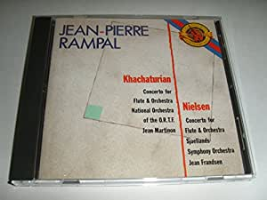 Jean-Pierre Rampal play Khachaturian & Nielsen Flute Concerti (CBS Masterworks)