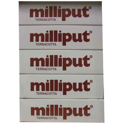 Milliput Epoxy Putty - Terracotta 113.4g Kit - 10pk by Milliput ( MB Fibreglass ) by Milliput ( MB Fibreglass )