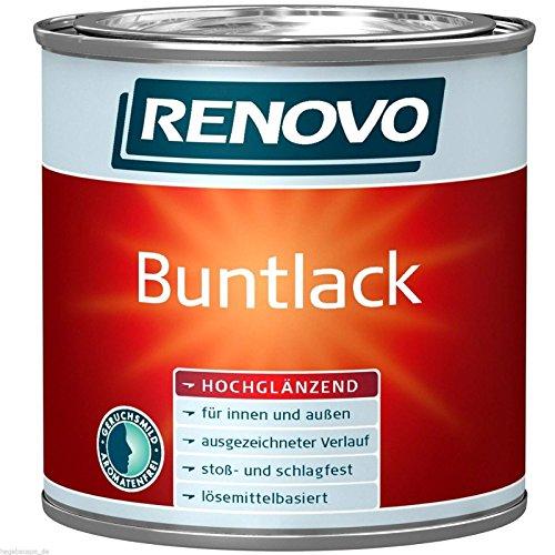 Buntlack lösemittelhaltig Weiß 2,5 Liter hochglänzend Alkydharzlack (10,80 Euro/Liter)