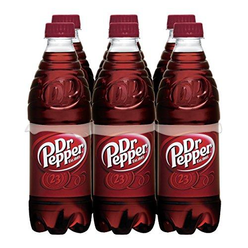 Dr Pepper, .5 L bottles, 6 count