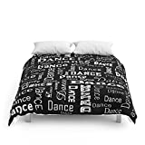 Society6 Just Dance! Comforters Full: 79'' x 79''