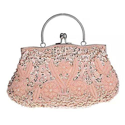 Damen Abendtaschen Handtasche Cheongsam Kleid-Beutel-Taschen-Tasche, Champagner