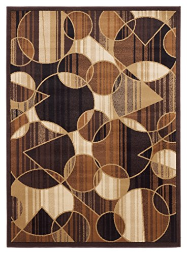 Signature Design by Ashley Contemporary Calder Multi (5'x8') Area Rugs