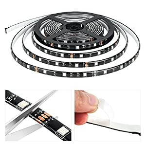 Miheal Wifi Wireless Smart Phone Controlled Led Strip Light Kit with DC12V UL Listed Power Supply Waterproof SMD 5050 32.8Ft(10M) 300leds RGB Music LED Light Strip Work with Android, IOS and Alexa