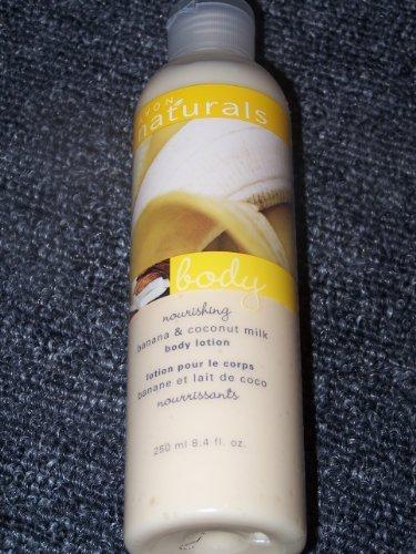 Avon Naturals Banana and Coconut Milk Body Lotion 8.4oz.