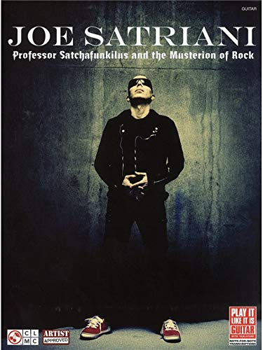 Joe Satriani: Professor Satchafunkilus and the Musterion of Rock (TAB). Partitions pour Tablature Guitare ()
