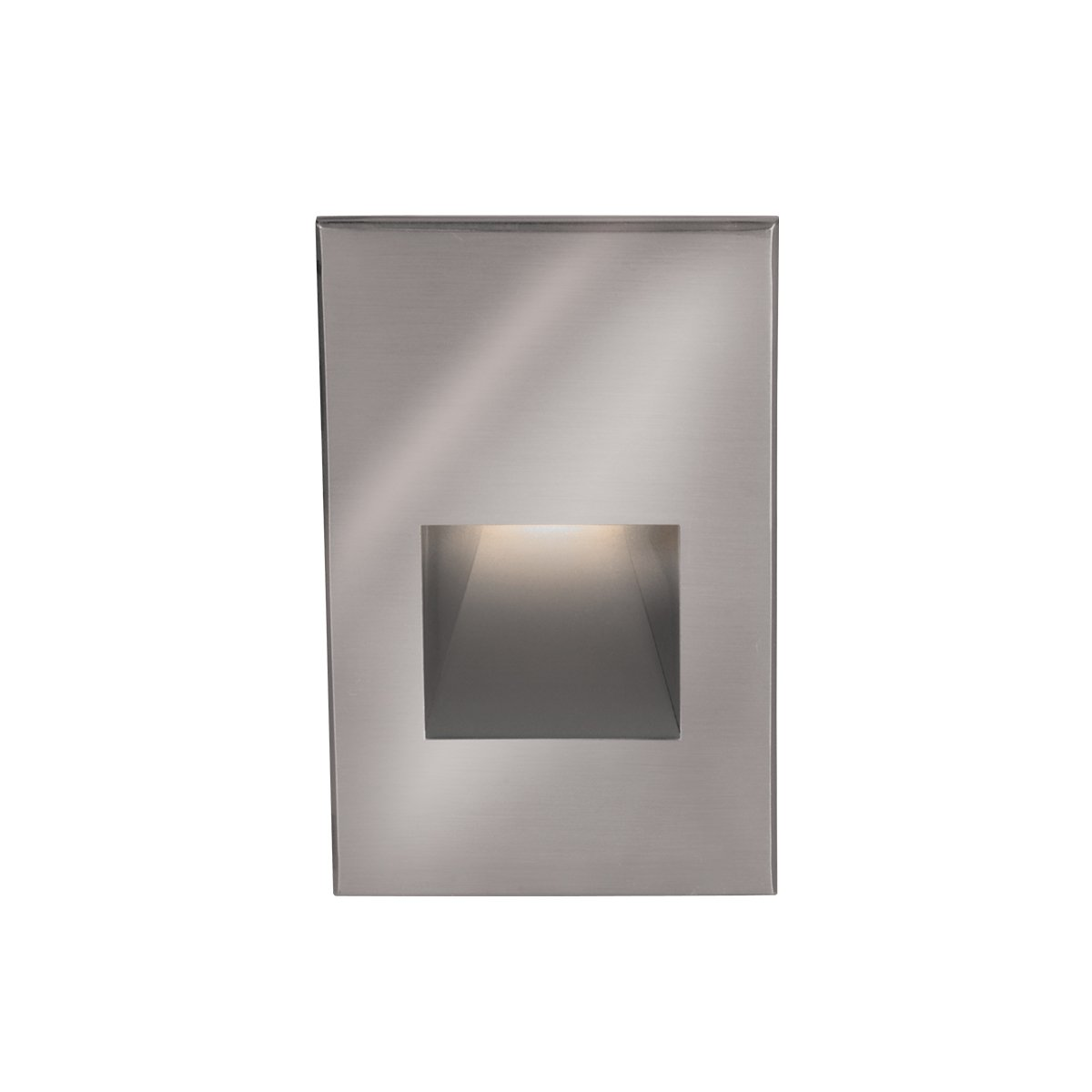 WAC Lighting WL LED200 C SS Vertical Scoop 4W 120V LED Step Wall Light with  Cool White Lens and Marine Grade 316 Stainless Steel Finish   Track Lighting   WAC Lighting WL LED200 C SS Vertical Scoop 4W 120V LED Step Wall  . Marine Grade Stainless Steel Outdoor Wall Lights. Home Design Ideas