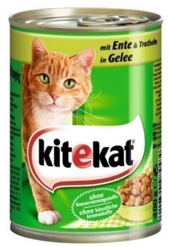 Kitekat Katzenfutter Dosen Mix 12er Pack (12 x 400g)