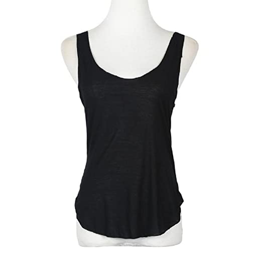 2beb4eba7fa5a Perman Women s Sexy Summer Sleeveless V-Neck Candy Vest Loose Tank Tops  T-shirt