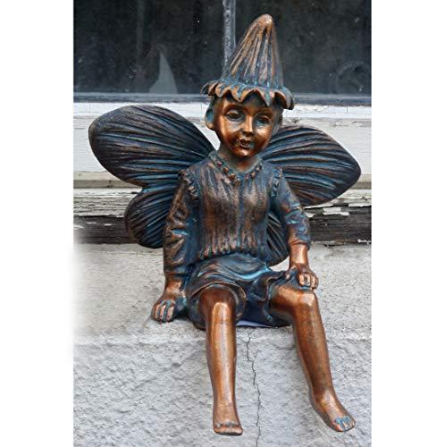 Gnome Garden Ornament Troll Fern and Ffion Fairies Imp Fairy