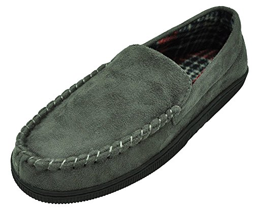 mixin-mens-casual-pile-lined-indoor-outdoor-rubber-sole-micro-suede-moccasin-flats-slippers-grey-siz