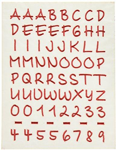 (Joy Letter Iron On Sheet Monogram Baby 1/2