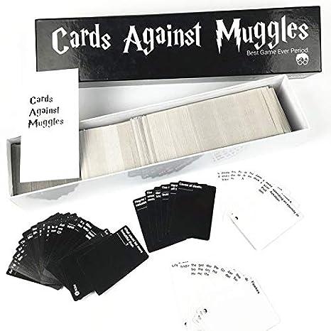 VJUKUBWINE Cartas contra Muggles Harry Potter Juego de ...
