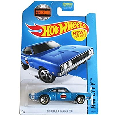 hot wheels hw city '69 dodge Charger 500 19/250 2015: Toys & Games