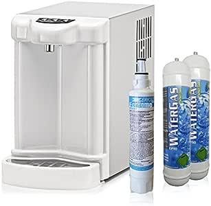 Purificador agua dispensador fría gasata ambiente enfriador ...