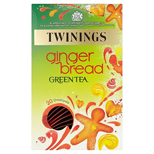 - Twinings Green Gingerbread Tea Bags (20) - Pack of 2