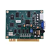 ZHUOTOP 19 in 1 Horizontal Multicade Arcade Multigame Jamma PCB Board for Video Game AC732