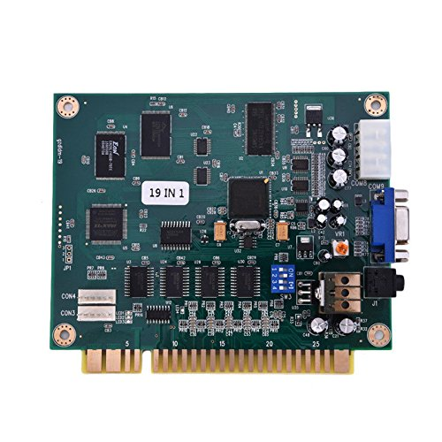 ZHUOTOP 19 in 1 Horizontal Multicade Arcade Multigame Jamma PCB Board for Video Game AC732 by ZHUOTOP