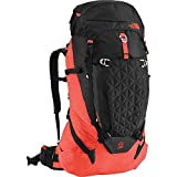 The North Face Cobra 60 Backpack - 3661cu in TNF Black/Acrylic Orange Heather, S/M