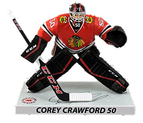 NHL Chicago Blackhawks Corey Crawford Player Replica (Chicago Blackhawks Goalie)