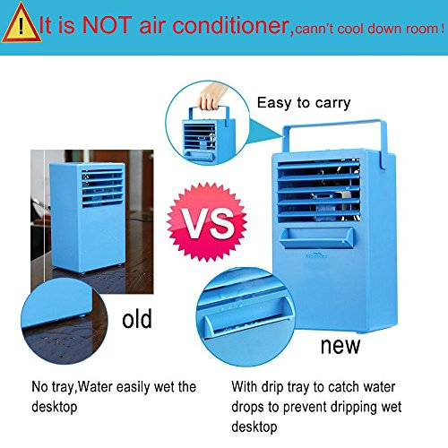 Madoats 9 5 Inch Super Mini Portable Air Conditioner Fan