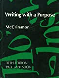 Writing with a Purpose, James McNab McCrimmon, 0395177405
