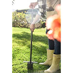 Yard Butler Sod Plugger Zoysia St. Augustine Fescue Centipede Grass Lawn Turf Plug Cutter Tool SP-33