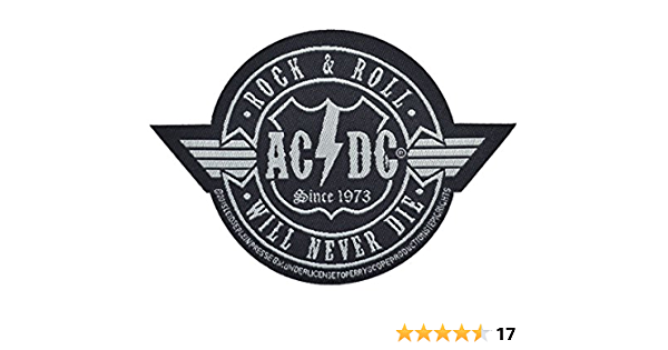 ACDC Let There Be Rock Woven Sew On Battle Jacket Patch Officially Licensed