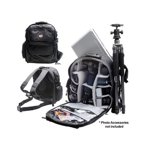 Aktiv Pak AP400 Professional All Weather Multi Purpose Camera & Photo/ Computer Laptop Backpack for Nikon D3000, D3100, D5000, D7000, D90, D300s, D3, D3s, D3x Digital SLR Camera